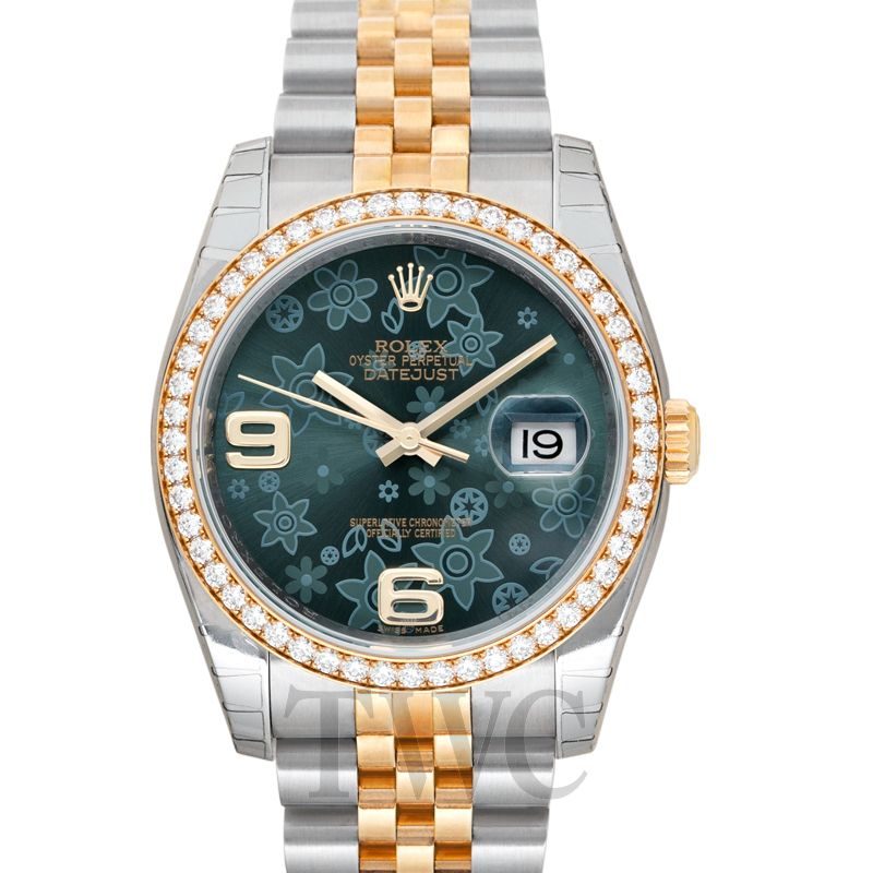 Datejust II Green Dial