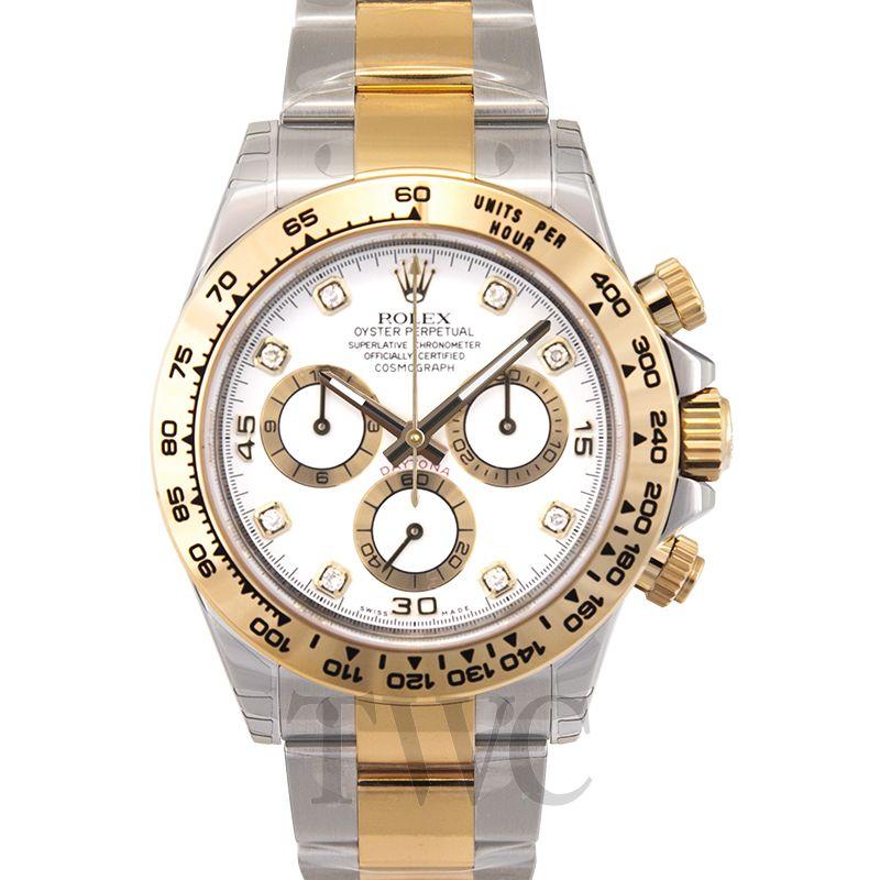 New Daytona White 18k Gold O40mm 116503 White G Rolex Cosmograph