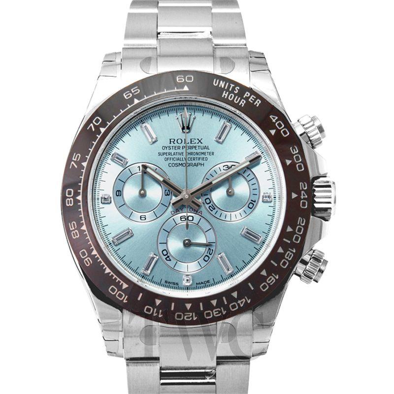 Rolex Cosmograph Daytona Ice Blue Platinum G 40mm 116506A
