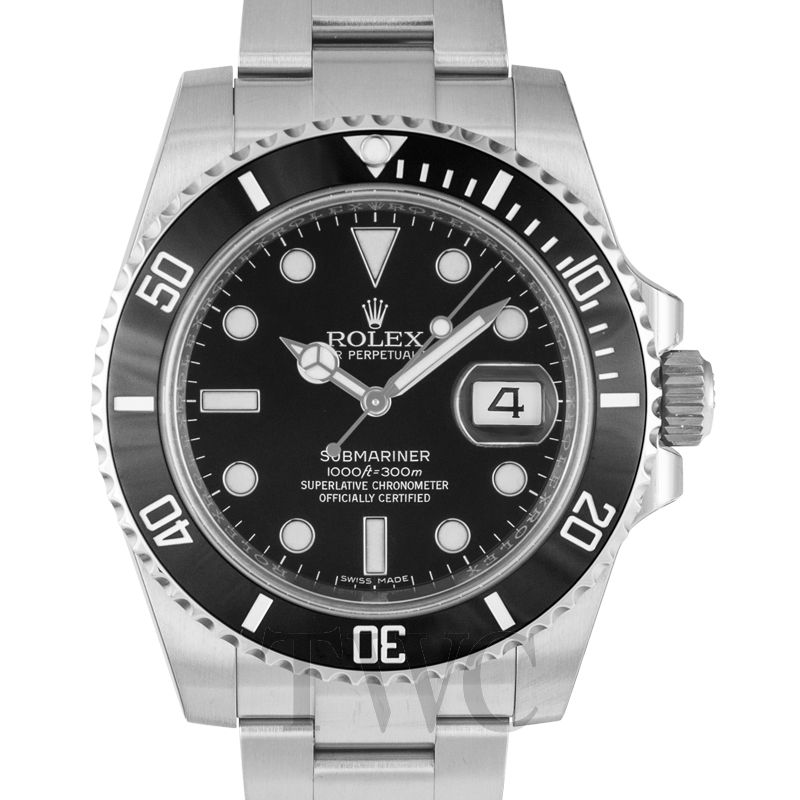 New Rolex Oyster Perpetual Submariner Black Dial Black Cerachrom