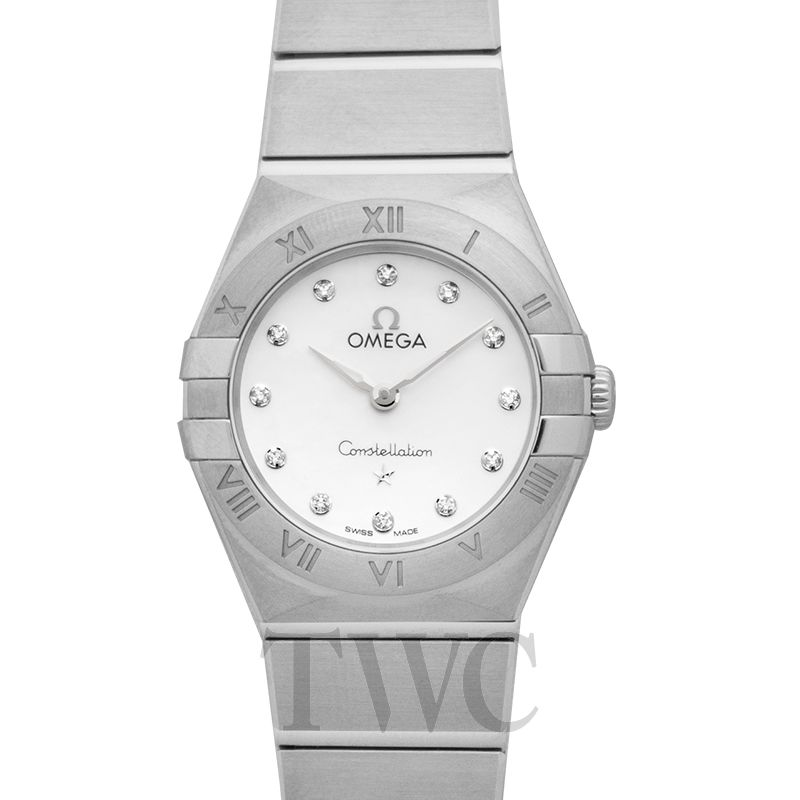 New Omega Constellation Manhattan Quartz 25mm Ladies Watch 131 10