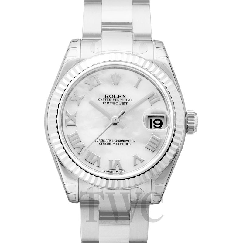 5bef3de5d53a Rolex - Rolex Datejust Lady 31 Mother of Pearl Dial Stainless Steel Oyster  Bracelet Automatic Watch 178274MRO - 178274-0072 - ザワウッチカンパニー高級時計 ...