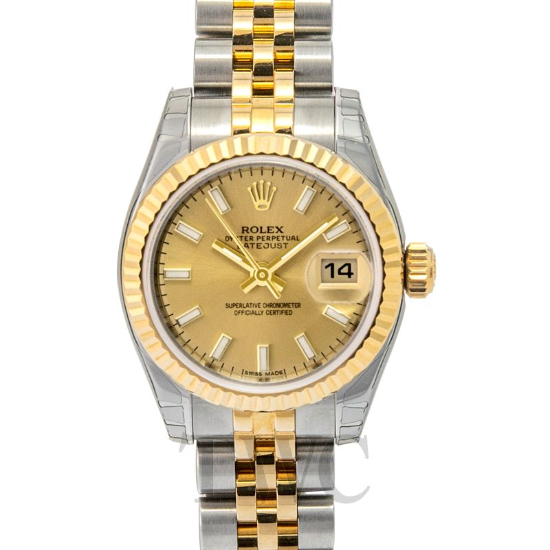 Rolex Lady Datejust 18k gold 26 mm 179173/7