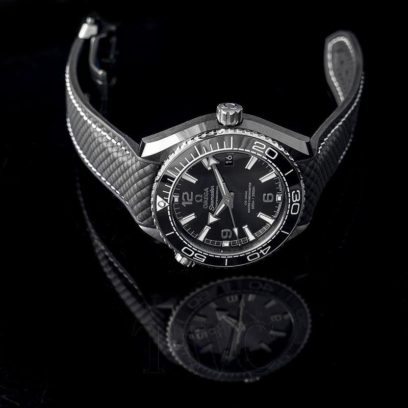Omega Seamaster Planet Ocean, Black, Bezel, Dial, Automatic, Luxury Watch