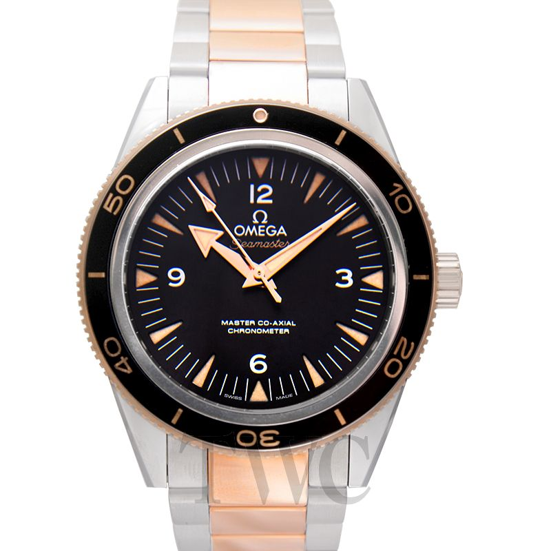 Omega Seamaster 300 Master Co-Axial Stainless Steel / Sedna Gold 233.20.41.21.01.001