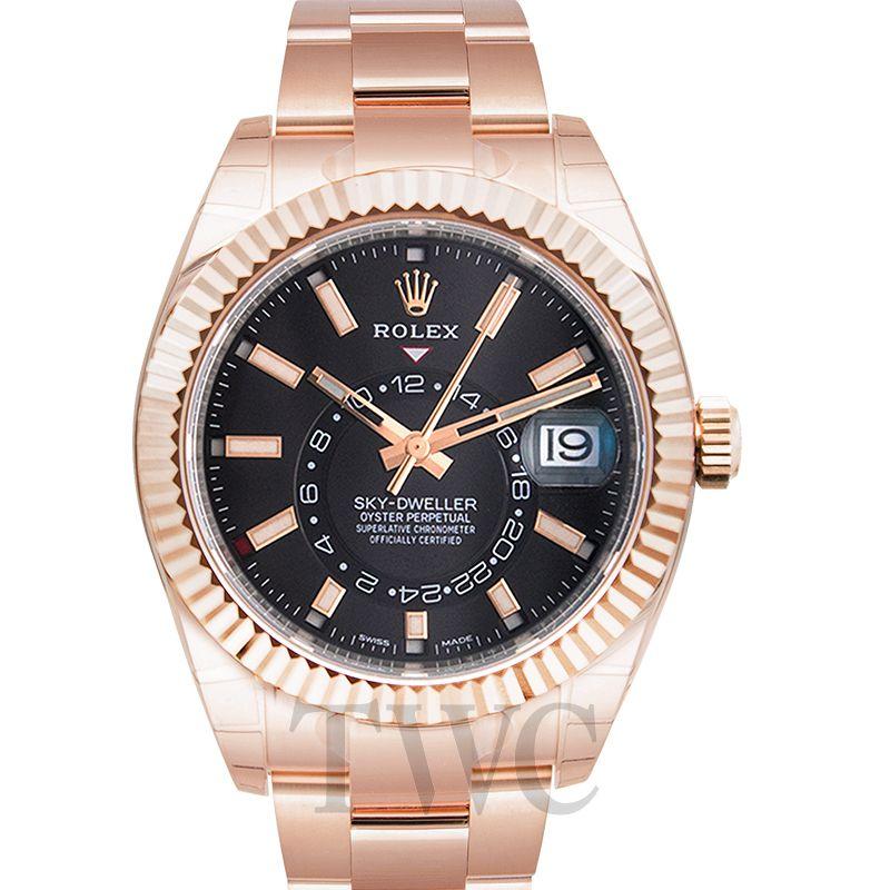 Rolex Sky Dweller 18kt Everrose Gold 326935-0007