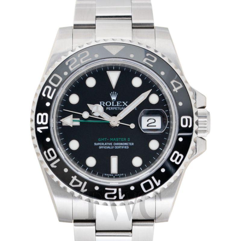 Used GMT-Master II Black/Steel Ø40mm 116710 LN_@_GOVZEWZ0 Rolex ...