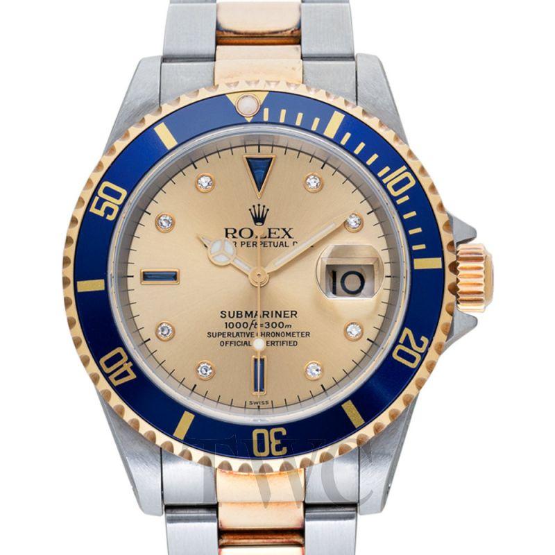 Submariner Blue 18k Gold O40mm