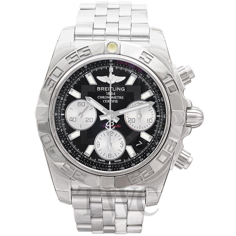 timeless design e97e6 aef30 Chronomat 41 Black Steel 44mm