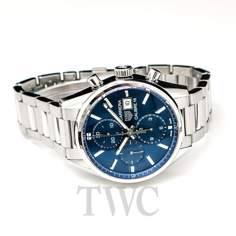 new product f509d 25aa9 Carrera Automatic Blue Dial Men's Watch