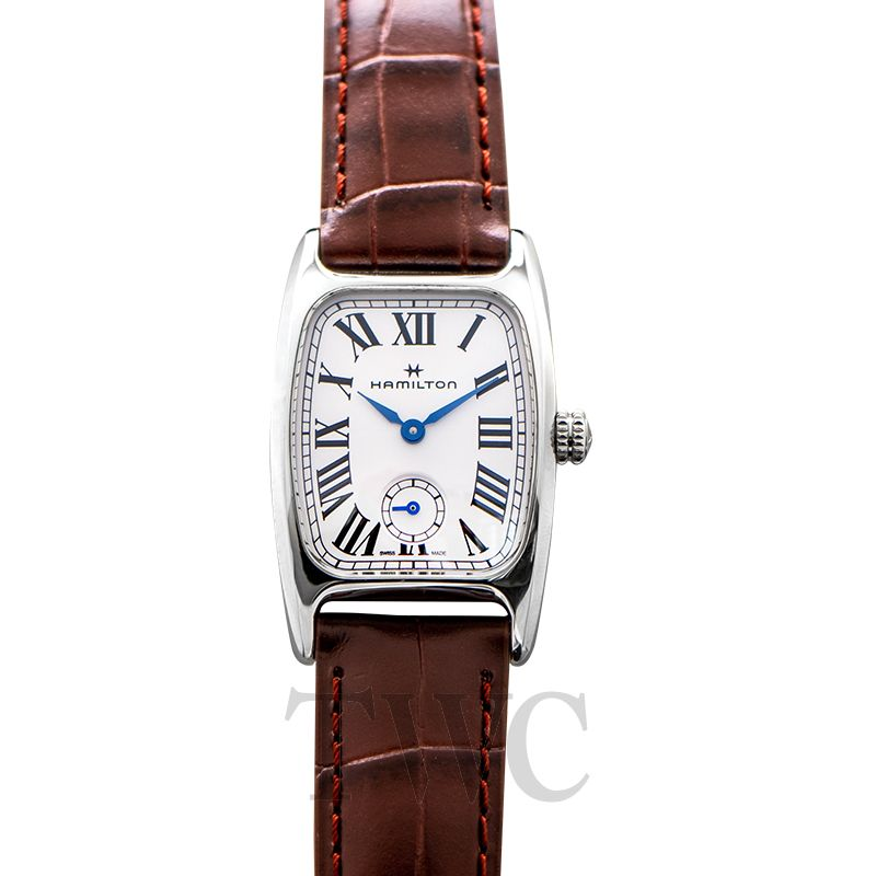 American Classic Quartz White Dial Stainless Steel Ladies Watch