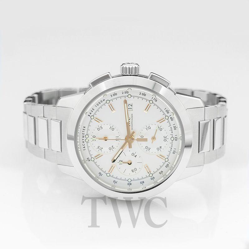 official photos 9f324 de06e Ingenieur Chronograph Automatic Silver Dial Men's Watch
