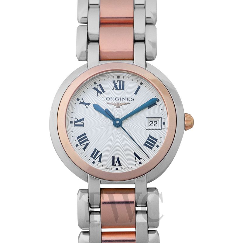 huge discount e5bce 8b95c Longines PrimaLuna Quartz Silver Dial Ladies Watch