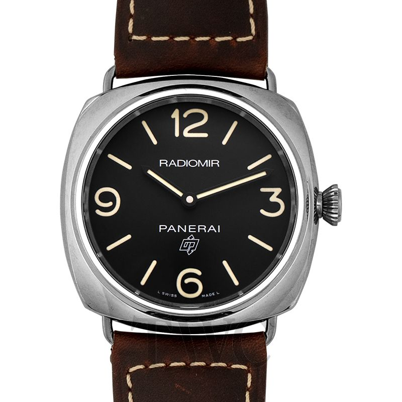New Panerai Radiomir Brown Leather Men S Watch 45mm Pam00753 Panerai
