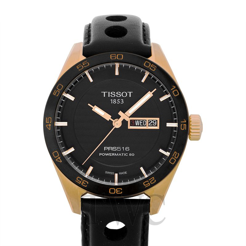 Tissot PRS 516 Stainless Steel Watch, Mechanical Watches, Elegant, Sporty, Automatic