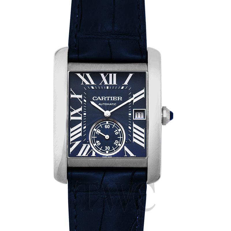 Cartier-Tank-MC-Blue-Dial-dress-watches