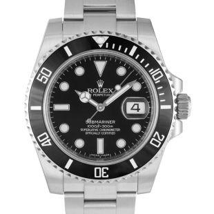 5584a674a Rolex Rolex Oyster Perpetual Submariner Black Dial Black Cerachrom Bezel  Steel Men's Watch 116610LN