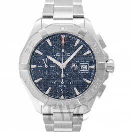 premium selection e8011 381dc Aquaracer Chronograph Calibre 16 Automatic Blue Dial Men's Watch
