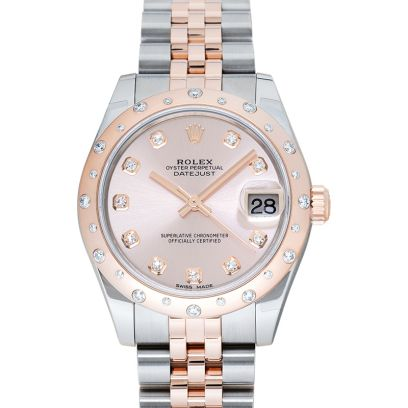 06cd414940f Rolex Datejust 31 Pink Steel/18k Rose Gold Dia 31mm