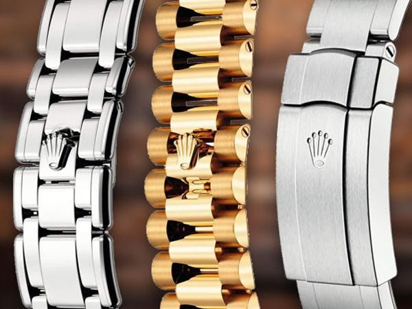Rolex Authentic Bracelets in