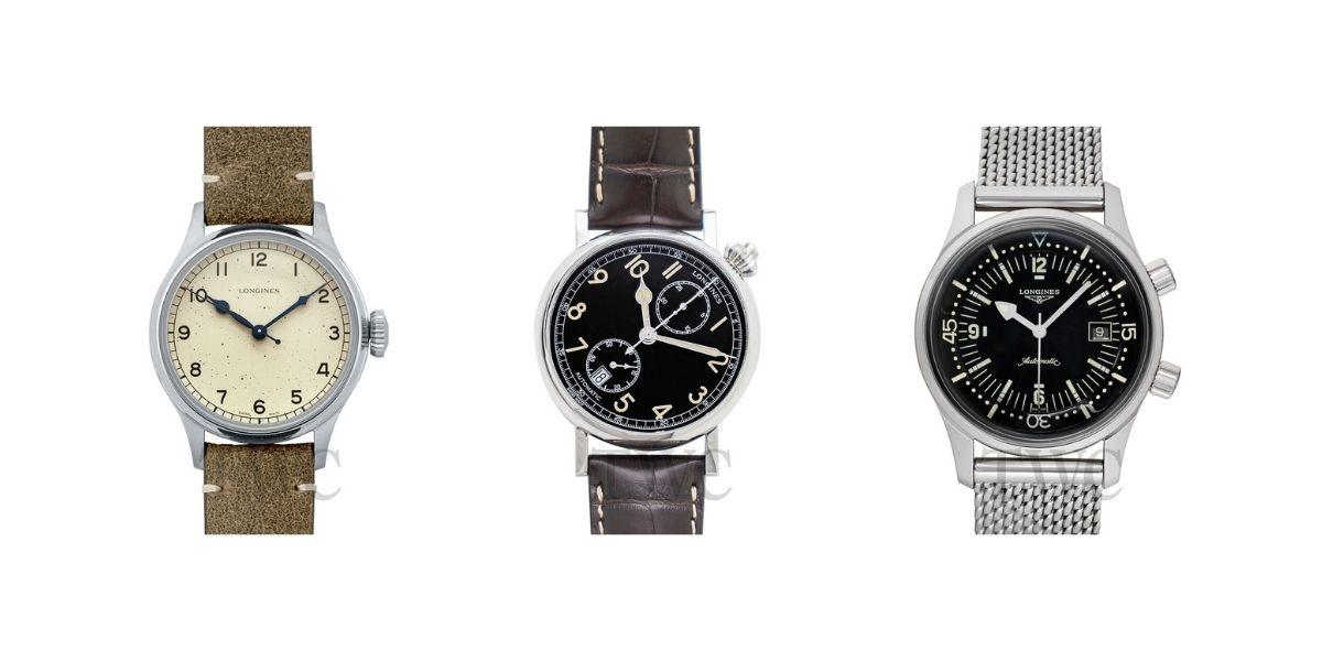 6 Longines Heritage Watches For Your Vintage Collection