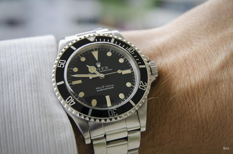 Rolex 5513: A Look At The Brand's Iconic Vintage Submariner
