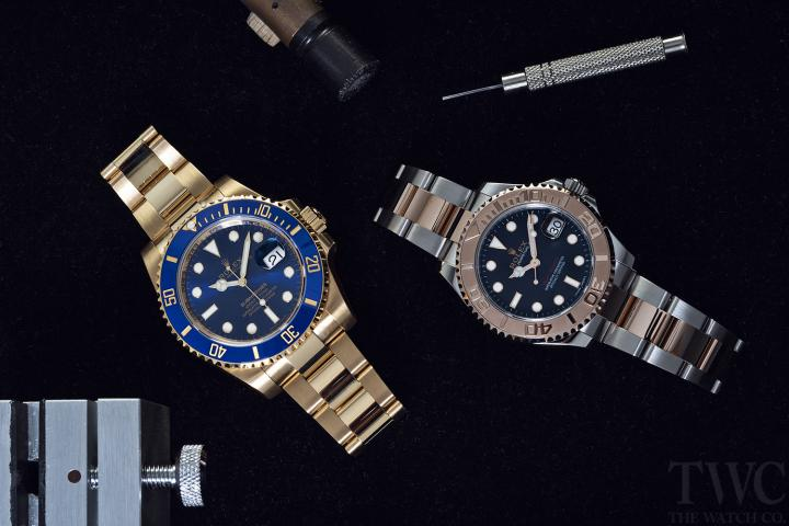 How to Wind and Set a Rolex Watch
