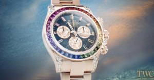 A Closer Look At The Rolex Cosmograph Daytona Rainbow