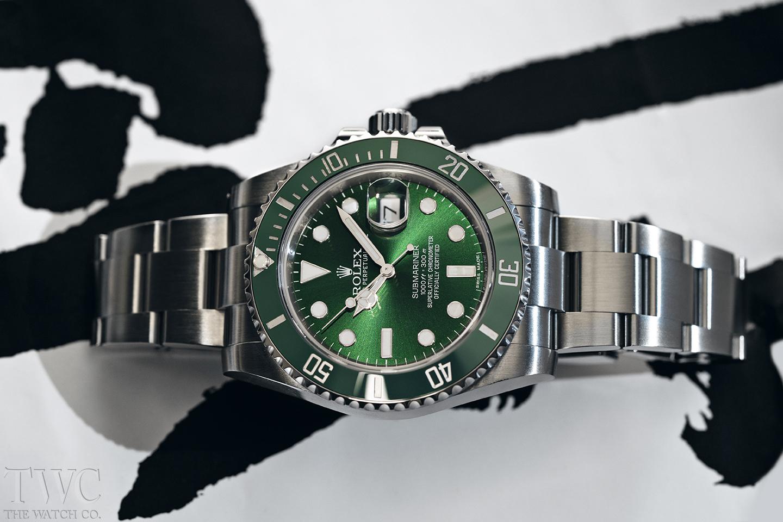 The Flashy Rolex Hulk Submariner 116610LV