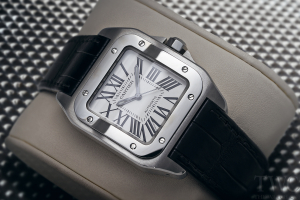 The Classic Yet Contemporary Cartier Santos 100